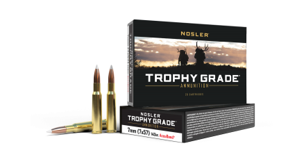 7x57 Mauser 140gr AccuBond Trophy Grade Ammunition