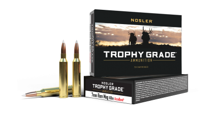 7mm Rem Mag 160gr AccuBond Trophy Grade Ammunition