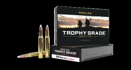 280 Rem 140gr AccuBond Trophy Grade Ammunition