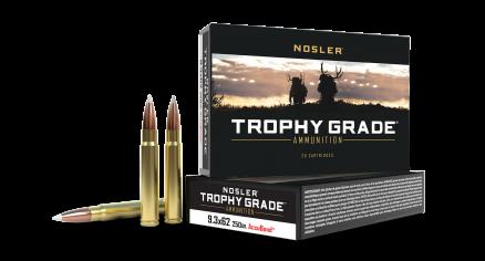 9.3x62 Mauser 250gr AccuBond Trophy Grade Ammunition