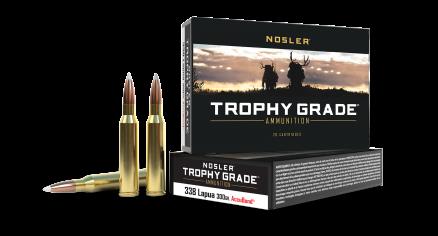 338 Lapua Mag 300gr AccuBond Trophy Grade Ammunition