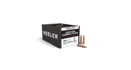 6mm 107gr HPBT Custom Competition (100ct)