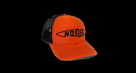 Nosler® Bullet Logo Trucker Hat (Orange / Black)