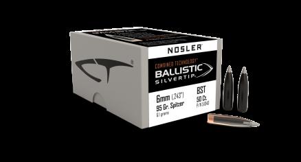 6mm 95gr Ballistic Silvertip (50ct)