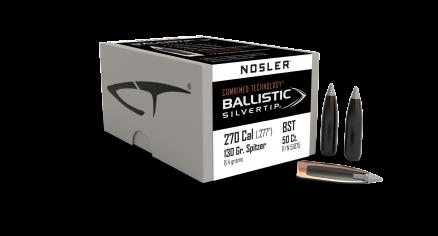 270 Caliber 130gr Ballistic Silvertip (50ct)