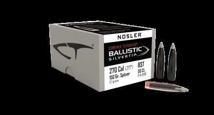 270 Caliber 150gr Ballistic Silvertip (50ct)