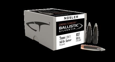 7mm 140gr Ballistic Silvertip (50ct)