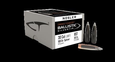30 Caliber 168gr Ballistic Silvertip (50ct)