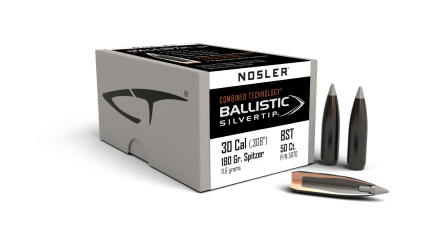 30 Caliber 180gr Ballistic Silvertip (50ct)