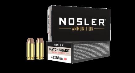 40 S&W 150gr JHP Match Grade Handgun Ammunition (50ct)