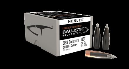 338 Caliber 200gr Ballistic Silvertip (50ct)