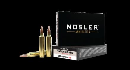 28 Nosler 168gr Custom Competition Match Grade Ammunition