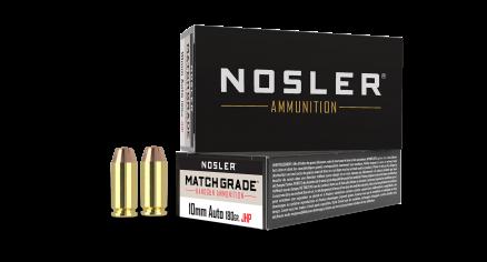 10mm 180gr JHP Match Grade Handgun Ammunition (50ct)