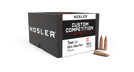 7mm 168gr HPBT Custom Competition (250ct)