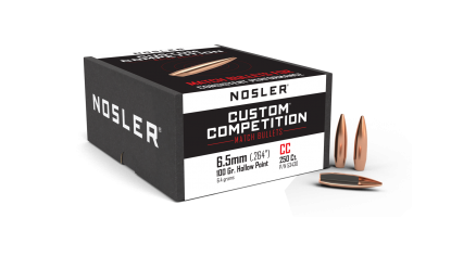 6.5mm 100gr HPBT Custom Competition (250ct)