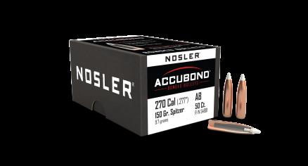 270 Caliber 150gr AccuBond (50ct)