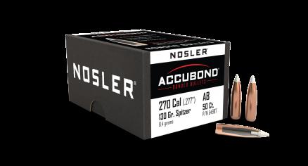 270 Caliber 130gr AccuBond (50ct)