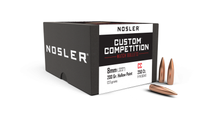 8mm 200gr HPBT Custom Competition (250ct)