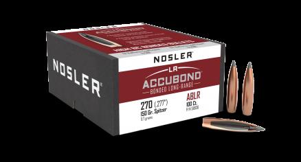 270 Caliber 150gr AccuBond Long Range (100ct)