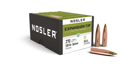 270 Caliber 130gr Expansion Tip Lead Free (50ct)