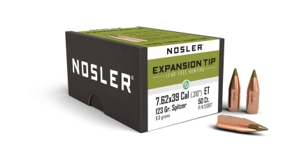 7.62x39mm 123gr Expansion Tip Lead Free (50ct)