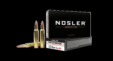 223 Rem 77gr Custom Competition Match Grade Ammunition