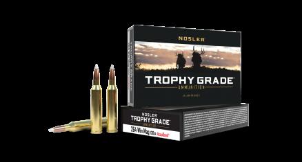 264 Win Mag 130gr AccuBond Trophy Grade Ammunition