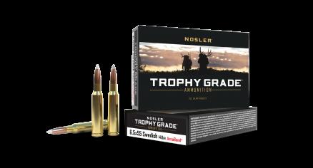 6.5x55 Mauser 140gr AccuBond Trophy Grade Ammunition