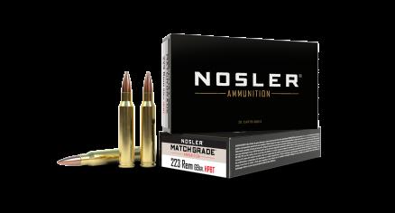 223 Remington 69gr Custom Competition Match Grade Ammunition