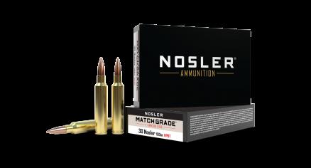 30 Nosler 190gr Custom Competition Match Grade Ammunition