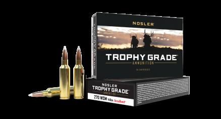270 WSM 140gr Accubond Trophy Grade Ammunition