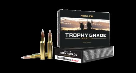 7mm-08 Rem 140gr AccuBond Trophy Grade Ammunition