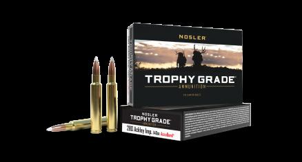280 Ackley Improved 140gr AccuBond Trophy Grade Ammunition