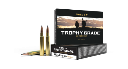 280 Ackley Improved 160gr Partition Trophy Grade Ammunition