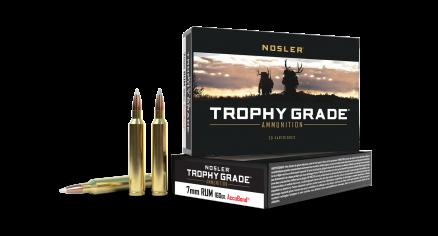 7mm RUM 160gr AccuBond Trophy Grade Ammunition