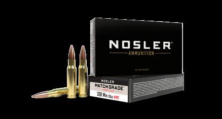 308 Winchester 155gr HPBT Custom Competition Match Grade Ammunition