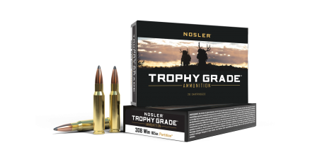 308 Win 165gr Partition Trophy Grade Ammunition