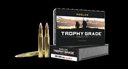 300 H&H Mag 180gr AccuBond Trophy Grade Ammunition