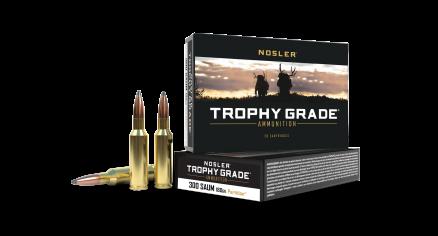 300 SAUM 180gr Partition Trophy Grade Ammunition