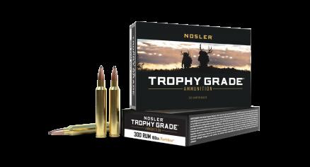 300 RUM 180gr Trophy Grade Partition Ammunition