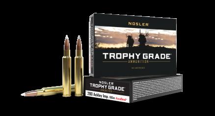 280 Ackley Improved 160gr AccuBond Trophy Grade Ammunition
