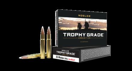 35 Whelen 225gr AccuBond Trophy Grade Ammunition
