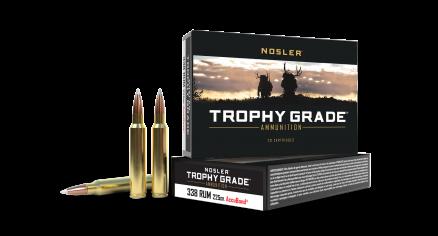 338 RUM 225 AccuBond Trophy Grade Ammunition