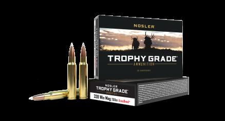 338 Win Mag 250gr AccuBond Trophy Grade Ammunition