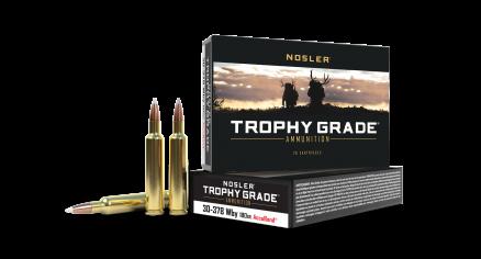 30-378 Weatherby Mag 180gr AccuBond Trophy Grade Ammunition
