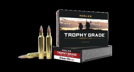 26 Nosler 129gr AccuBond Long Range Trophy Grade Ammunition