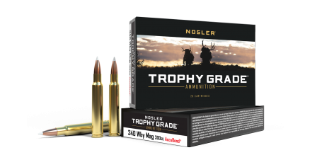 340 Weatherby 300gr AccuBond Trophy Grade Ammunition