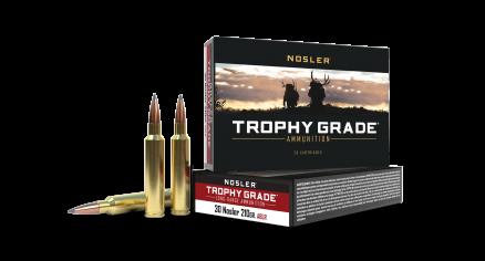 30 Nosler 210gr AccuBond Trophy Grade Long Range Ammunition