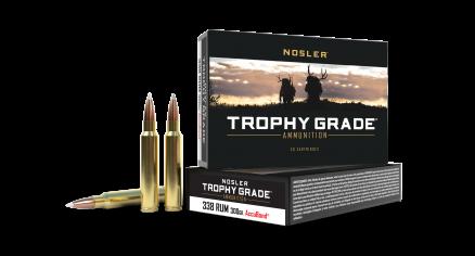 338 RUM 300gr AccuBond Trophy Grade Ammunition