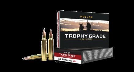 300 Win Mag 190gr AccuBond Long Range Trophy Grade Ammunition